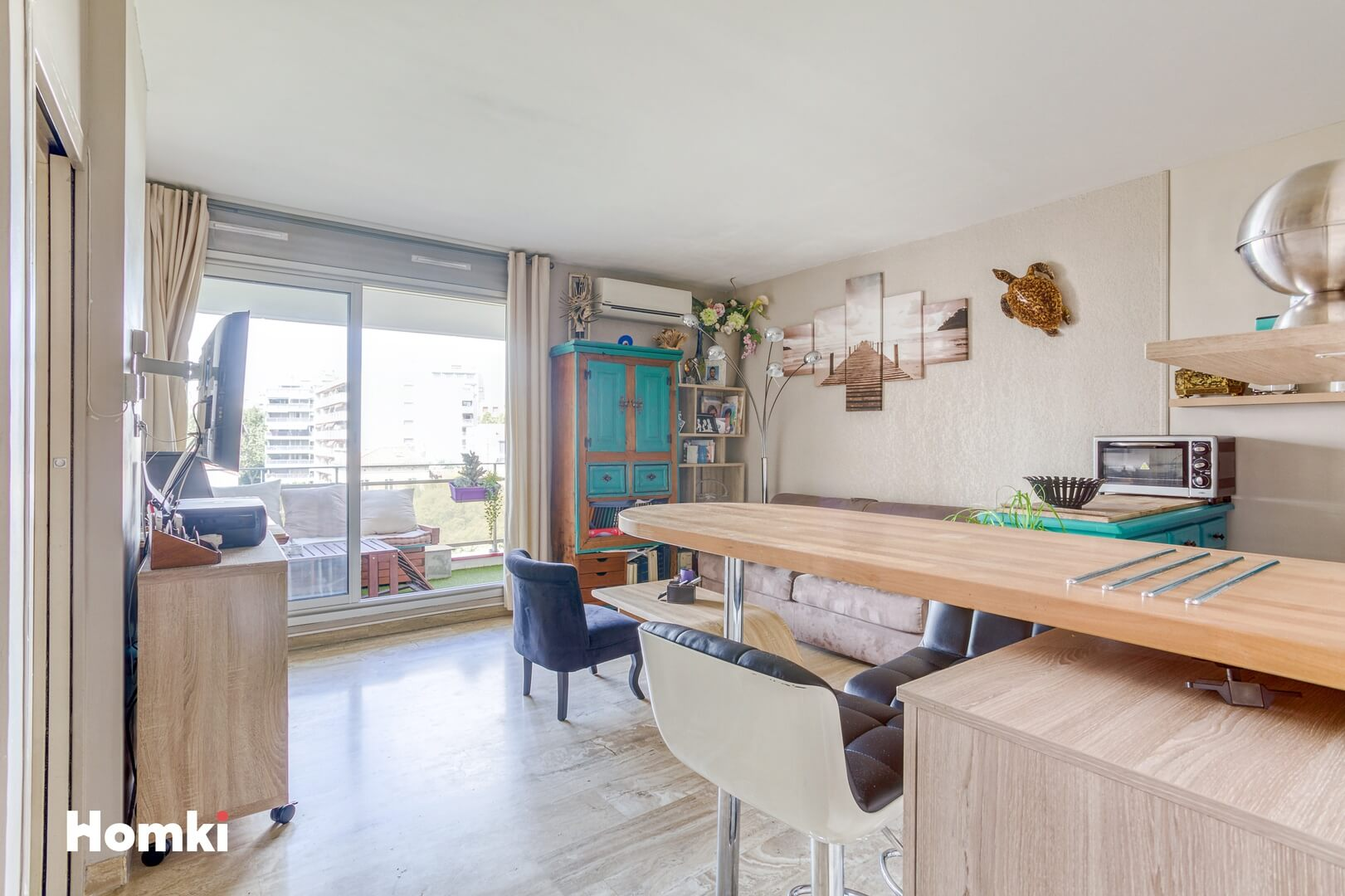 Homki - Vente Appartement  de 39.0 m² à Marseille 13008